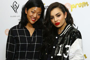 (L-R) Editor in Chief at Nylon Magazine, Michelle Lee and singer Charli XCX attend NYLON Magazine's IT Girl Party at Gilded Lily on October 6, 2014 in New York City.
