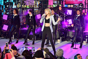 Taylor Swift performs at New Year's Eve 2015 at Times Square on December 31, 2014 in New York City.