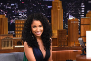 Nicki Minaj Visits 'The Tonight Show Starring Jimmy Fallon' at Rockefeller Center on December 16, 2014 in New York City.