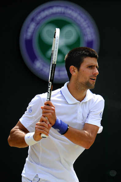 Novak Djokovic - The Championships - Wimbledon 2011: Day Nine