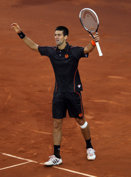 Novak Djokovic - Mutua Madrilena Madrid Open - Day Nine