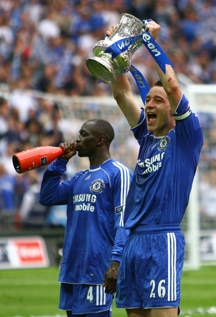 Frank Lampard, Claude Makelele - Frank Lampard and Claude Makelele ...