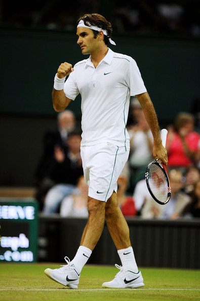 Roger Federer - The Championships - Wimbledon 2011: Day Four
