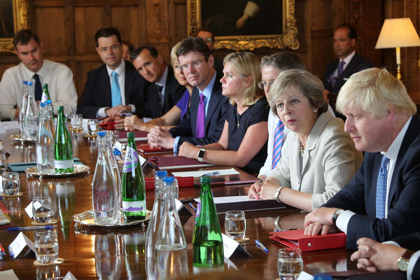 Image result for photos of PM THERESA MAY Chequers retreat