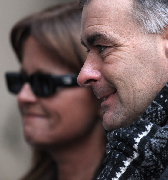 Tommy Sheridan (R), his wife Gail arrive at the High Court in Glasgow where the jury is to consider its verdict on December 23 2010 in Glasgow, Scotland. Mr Sheridan is accused of giving false evidence in a trial in 2006, over claims by a national newspaper that he had visited sex-clubs. Yesterday the ex-MSP pleaded with the jury to acquit him and not ruin his daughter's Christmas.