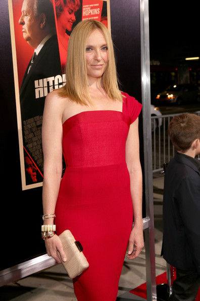 """Toni Collette Actress Toni Collette arrives at the premiere of Fox Searchlight Pictures' """"Hitchcock"""" at the Academy of Motion Picture Arts and Sciences Samuel Goldwyn Theater on November 20, 2012 in Beverly Hills, California."""