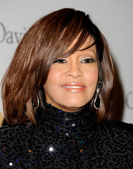 Whitney Houston Singer Whitney Houston arrives at the 2011 Pre-GRAMMY Gala and Salute To Industry Icons Honoring David Geffen at Beverly Hilton on February 12, 2011 in Beverly Hills, California.