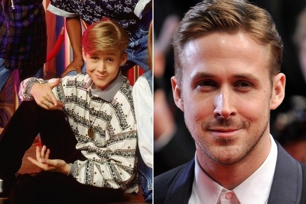Image result for ryan gosling then and now