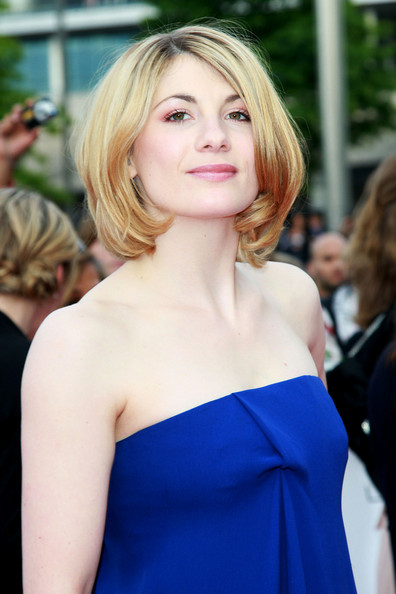 Jodie Whittaker Pictures Red Carpet At The National