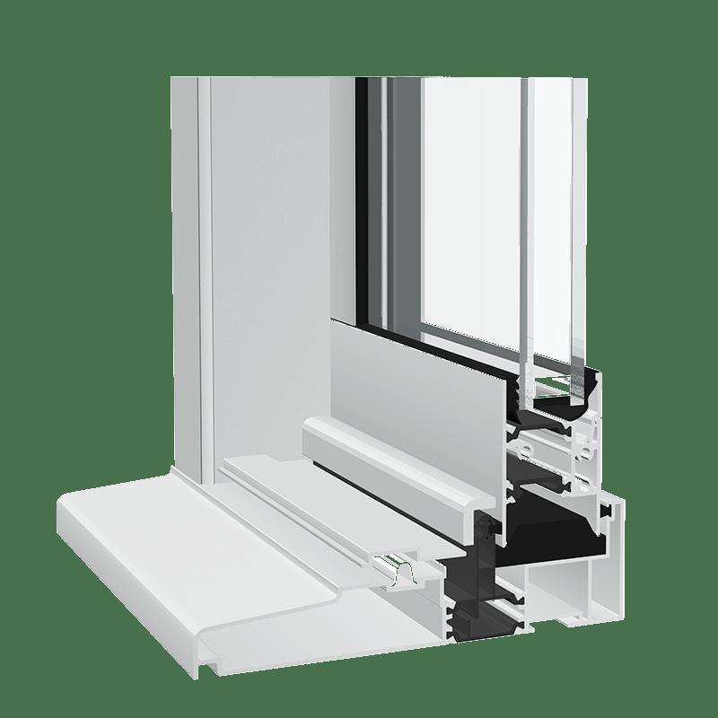 crown 120 aluminium sliding patio door