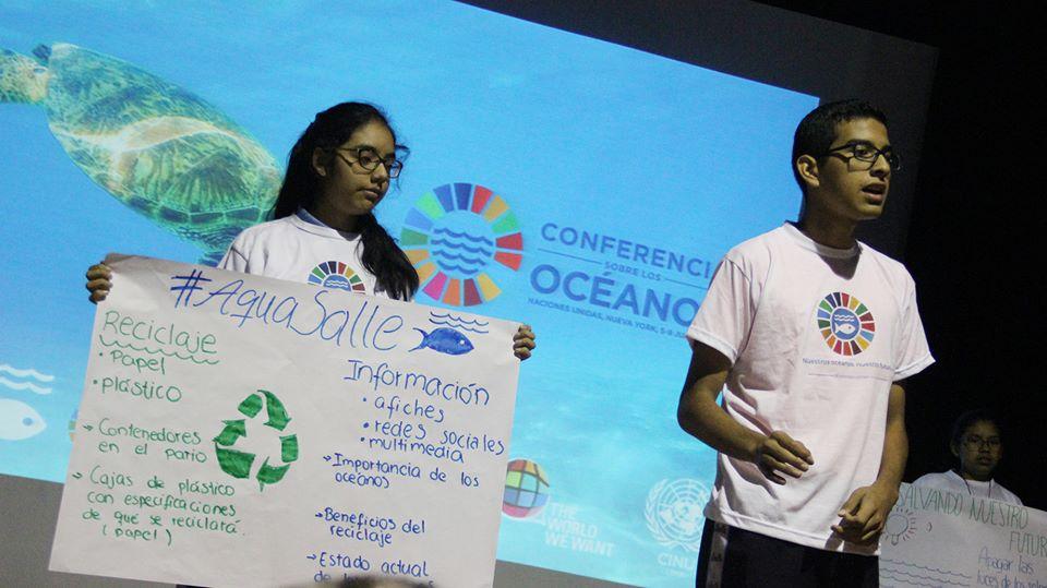 Campeones por los océanos – Perú, por nuestros océanos, por nuestro futuro.