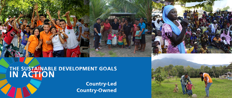 """The SDGs in Action: Country-led, Country-owned"""