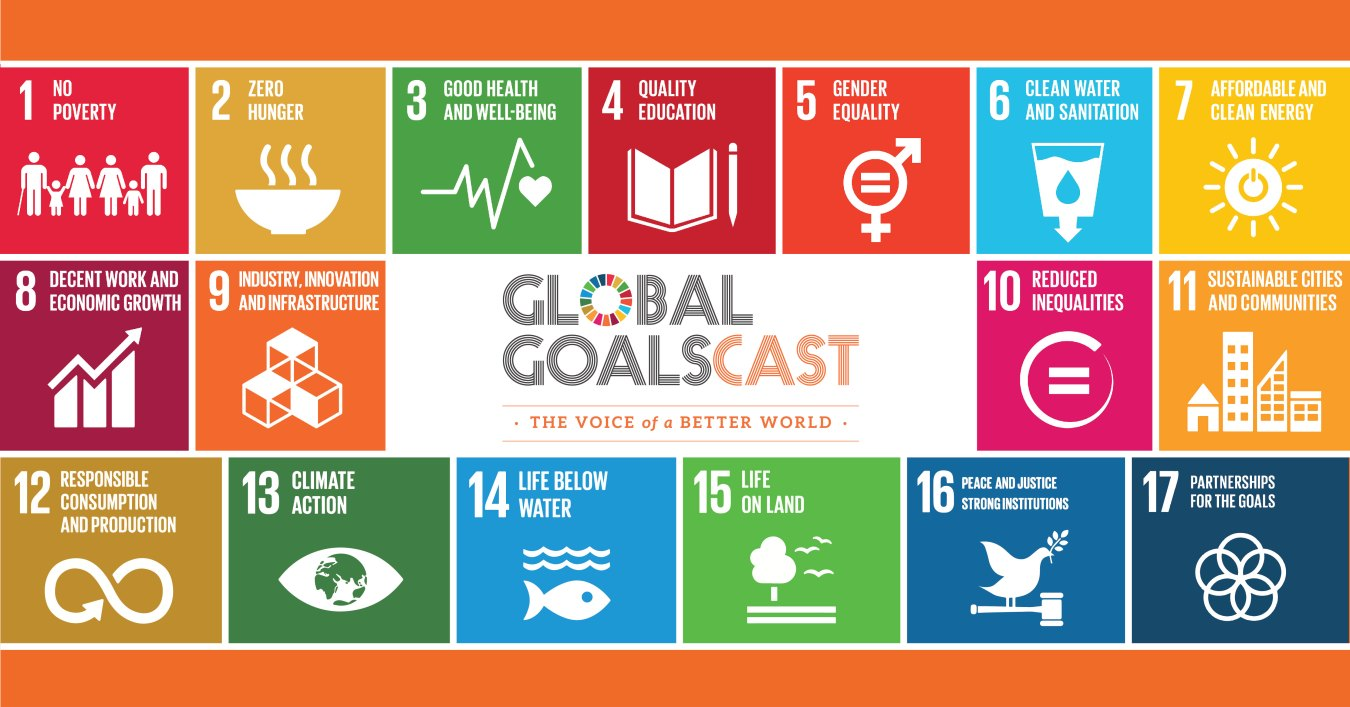 New podcast shares plan to make SDGs a reality – and we're a partner!