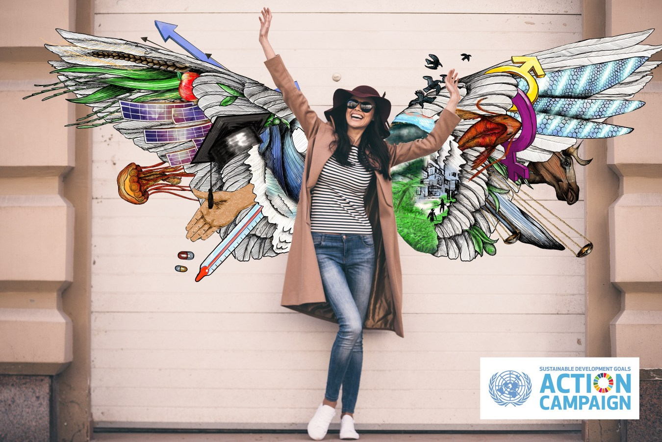 Spread your Goals and flap your wings for the #SDGs! A campaign launched in Germany invites citizens to have a say on the #SDGs