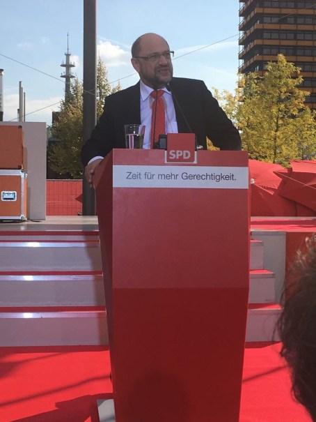 Martin Schulz in Gelsenkirchen