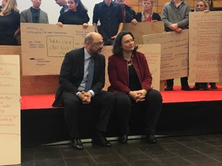 Martin Schulz und Andrea Nahles