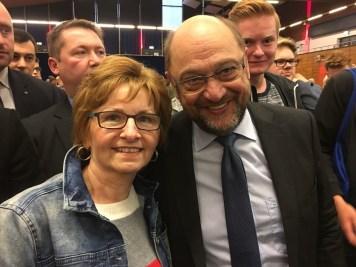 Martin Schulz und Barbara