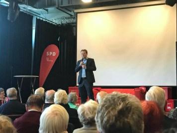 Neujahrsempfang SPD Waltrop 2018 Frank Schwabe