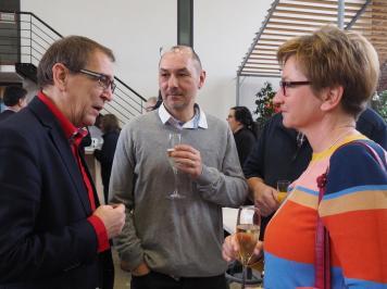 Neujahrsempfang SPD Waltrop 2019 Axel im Gespräch-min