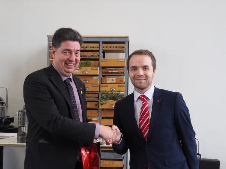 Neujahrsempfang SPD Waltrop 2019 Marcel Mittelbach Mark Rosendahl-min