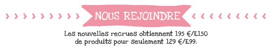 Rejoindre Stampin'Up! pendant la sale-a-bration