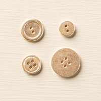 Or Métal de base Boutons de Stampin 'Up!