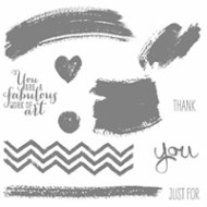 Work of Art Clear-Mount Stamp Set by Stampin' Up!