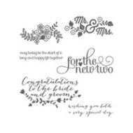 For the New Two Clear-Mount Stamp Set by Stampin' Up!