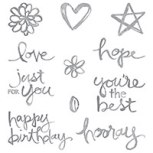 Watercolor Words Photopolymer Stamp Set by Stampin' Up!