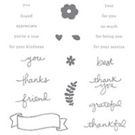 Endless Thanks Photopolymer Stamp Set by Stampin' Up!