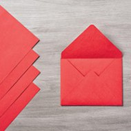 Real Red Envelope Paper by Stampin' Up!