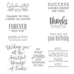 Suite Sayings Clear-Mount Stamp Set by Stampin' Up!