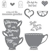 Vollkommene Momente Photopolymer Stamp Set (German) by Stampin' Up!
