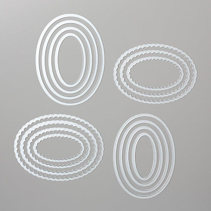 141706: Framelits Formen Lagenweise Ovale Image