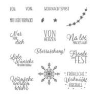 Drauf und dran Photopolymer Stamp Set (German)