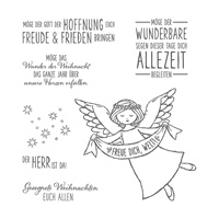 Freue dich, Welt Clear-Mount Stamp Set (German)