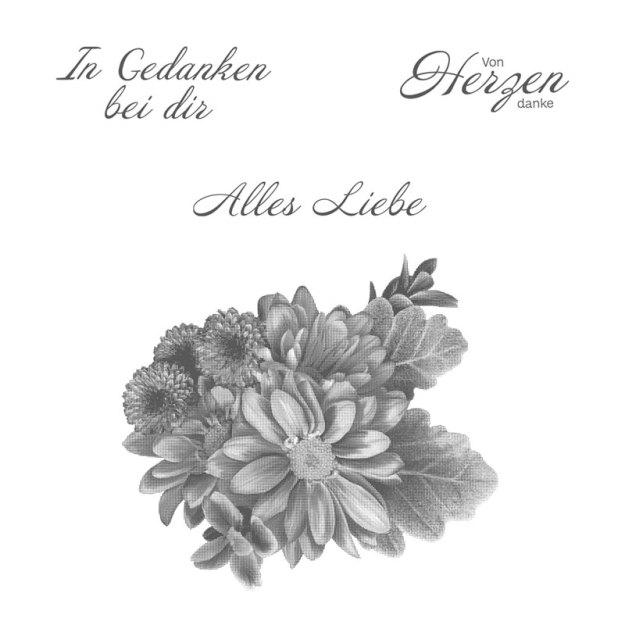 Stempelset 147287 Blumen von Herzen Sala-A-Bration Image