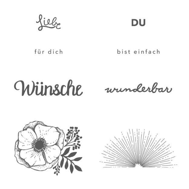 147295 Stempelset Einach wunderbar ( Sale-A-Bration) Image