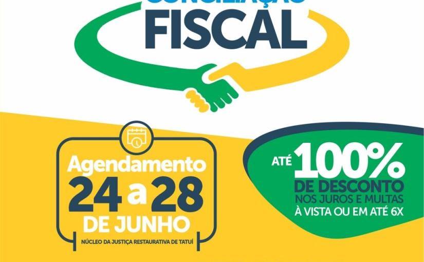 PREFEITURA DE TATUÍ E CEJUSC PROMOVERÃO ACORDOS EM MUTIRÃO DE CONCILIAÇÃO DE DÉBITOS FISCAIS