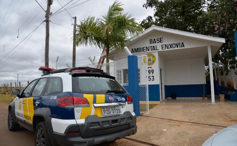 PREFEITURA REABRE BASE COMUNITÁRIA DA GCM NO BAIRRO ENXOVIA