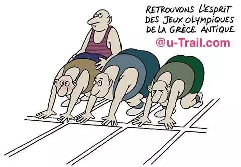 humour running utrail et les jo u trail