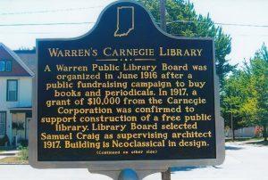 WPL historical marker sign
