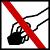 Prohibit recollir roques o minerals
