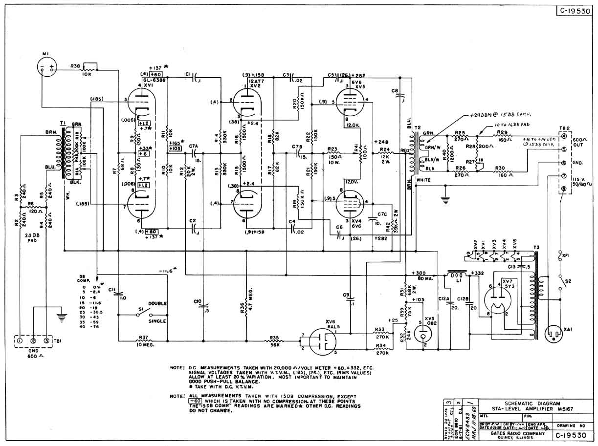 Gates Sta Level Compressor Schematic