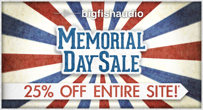 Memorial Day Sale - 25% Off