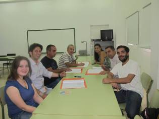 Representatives from Italy, Cyprus, Spain and Portugal in the workshop and project meeting