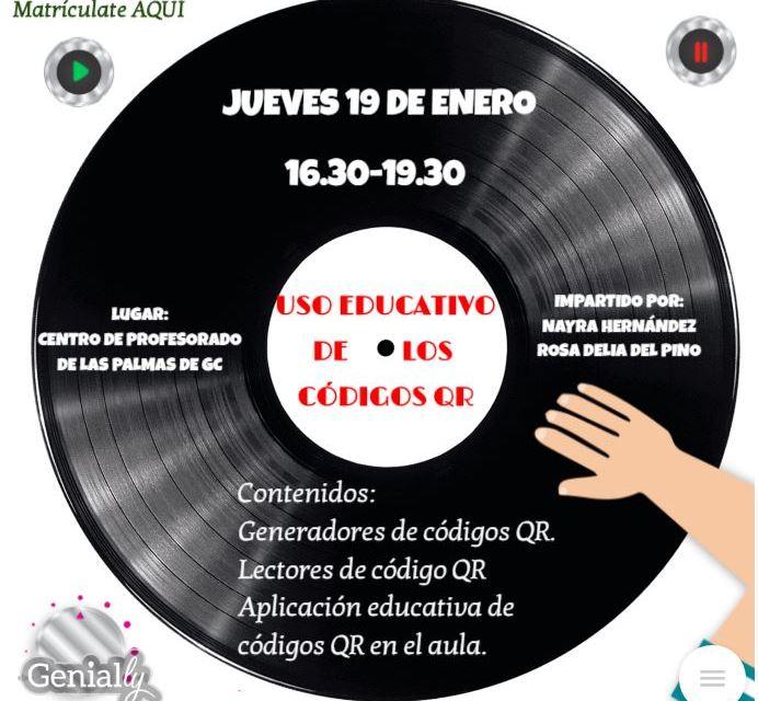 ACCIÓN PUNTUAL: USO EDUCATIVO DE LOS CÓDIGOS QR