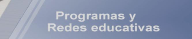 Convocatoria de Redes educativas