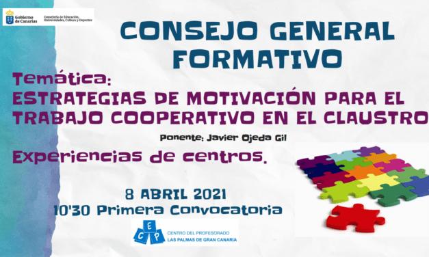 Consejo General 08 Abril