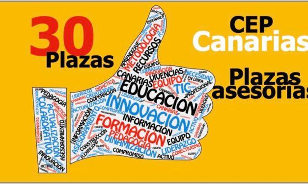 CONVOCATORIA PLAZAS ASESORÍAS CEP Las Palmas de Gran Canaria